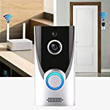 Eubell Smart Wireless WiFi Video Doorbell HD Security Camera with PIR Motion Detection Night Vision Visual Intercom Recording Video Kits