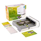 "AccuQuilt GO! Big Electric Fabric Cutter Starter Set with GO! Big Electric Fabric Cutter, GO! Flying Geese Die, 6"" x 12"" Cutting Mat and a 20 Page Pattern Booklet."