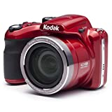 Kodak PIXPRO Astro Zoom AZ421-RD 16MP Digital Camera with 42X Optical Zoom and 3' LCD Screen (Red)