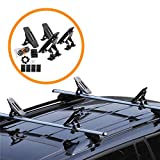 Onefeng Sports Saddle Kayak Roof Rack Canoe Mount Holder Cradle Boat Carrier for Most Car SUV Cross Bars