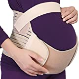 NEOtech Care Maternity Belt - Pregnancy Support - Waist/Back/Abdomen Band, Belly Brace (Beige, Size L)
