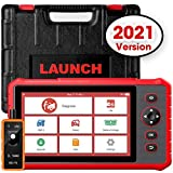 LAUNCH Scanner CRP909X Diagnostic Scan Tool (2021 New Elite Ver.) Full System OBD2 Scanner 15 Reset Functions 7 Inch Touch Screen Oil Reset, EPB, BMS, ABS Bleeding TPMS Auto VIN, EL-50448 Tool as Gift