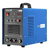 VIVOHOME 3 In 1 Multi-functional Plasma Cutter Cutting TIG STICK/MMA Non Touch Pilot Arc Welding Machine Dual Voltage 110/220V CT520DF Blue