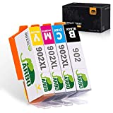 JARBO Compatible Ink Cartridge Replacement for HP 902 902xl, 1 Set (1 Black 1 Cyan 1 Magenta 1 Yellow), Use with HP OfficeJet 6968 6978 6958 6962 6960 6970 6979 6950 6954 6975 Printer