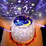 Night Lights for Kids -Luckkid Multifunctional Night Light Star Projector Lamp for Decorating Birthdays, Christmas, and Other Parties, Best Gift for a Baby's Bedroom, 5 Sets of Film