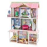 KidKraft Sweet Savannah Dollhouse with 14 Accessories Included, Gift for Ages 3+