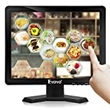 Eyoyo 15 inch Touch Screen Monitor POS Monitor HDMI VGA LCD Monitor 4:3 Display 1024×768 w/Built-in Speaker for POS System Industrial Equipment Computer Laptop