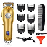 Kemei Professional Hair Clippers Hair Trimmer for Men Cordless Clippers for Stylists and Barbers