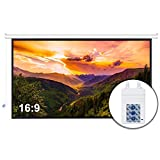 Neewer 110-inch Motorized Projector Screen with Remote Control, Projection Screen 16:9 110-inch Diagonal 8K/4K HD with Metal Housing and Wrinkle-Free 160° Viewing Angle for Home Theater Office Class