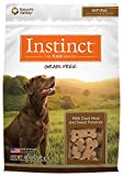 Instinct Grain Free with Duck Meal & Sweet Potatoes Natural Oven-Baked Biscuit Dog Treats by Nature's Variety, 20 oz.