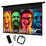 Elite Screens Spectrum 100' Electric Motorized Projector Screen with Multi Aspect Ratio Function, 16:9, Home Theater 8K/4K Ultra HD Ready Projection