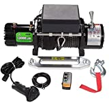 Offroad Boar Synthetic Rope Waterproof Winch - 13000 lb. Load Capacity (Synthetic Rope)