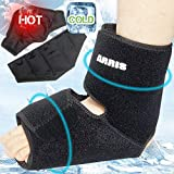 Ice Pack for Ankle Injuries, Foot & Ankle Ice Pack for Sprained Ankle, Achilles Tendon Injuries, Plantar Fasciitis, Bursitis & Sore Feet - Ankle Gel Ice Wrap for Ankle Pain Relieve - ARRIS