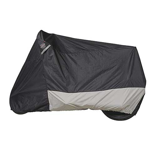Best Motorcycle Covers For Outside Storage 9. Guardian by Dowco 51223-00 WeatherAll Plus Indoor/Outdoor Waterproof Motorcycle Cover