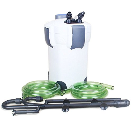 Best Aquarium Filters for Large Tanks 4. SunSun-China HW-304B 5-Stage External Canister Filter with 9-watt UV Sterilizer