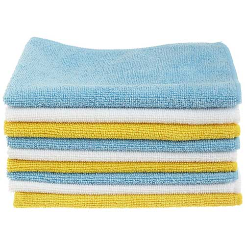 Best Microfiber Towels For Drying Car 1. AmazonBasics Microfiber Cleaning Cloth - 24-Pack