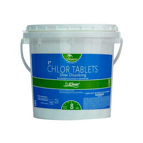 Best Chlorine Tablets for Swimming Pools 4. Rx Clear 1-Inch Stabilized Chlorine Tablets