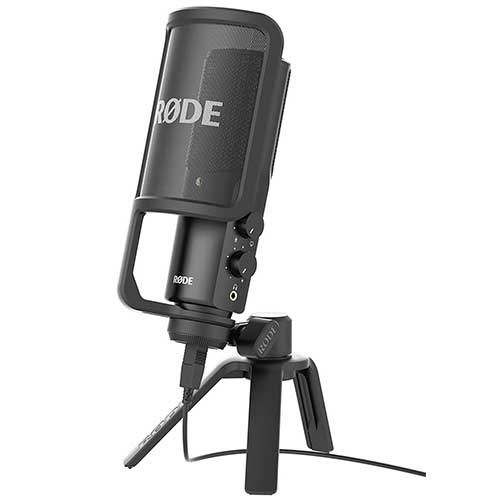 Best Mic for Vocals Under 200 2. Rode NT-USB USB Condenser Microphone