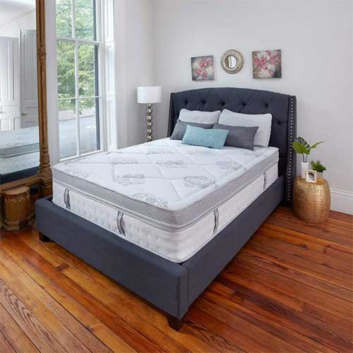 Best Mattress For Side Sleepers With Shoulder Pain 8. Classic Brands Gramercy Euro-Top Cool Gel Memory Foam and Innerspring Hybrid 14-Inch Mattress, King