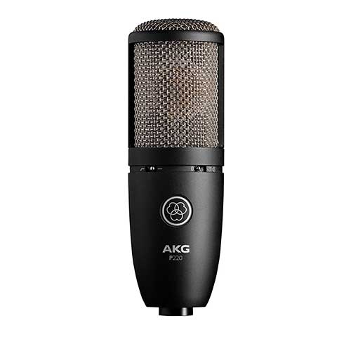 Best Mic for Vocals Under 200 3. AKG P220 High-Performance Vocal Condenser Microphone