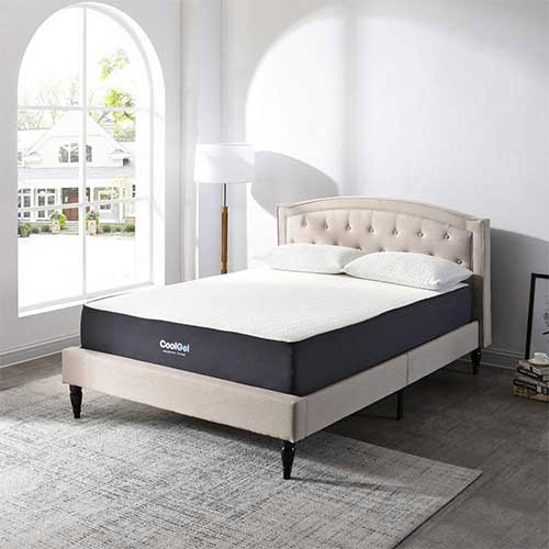 Best Mattress For Side Sleepers With Shoulder Pain 10. Classic Brands Cool Gel Ventilated Gel Memory Foam 10.5-Inch Mattress, King