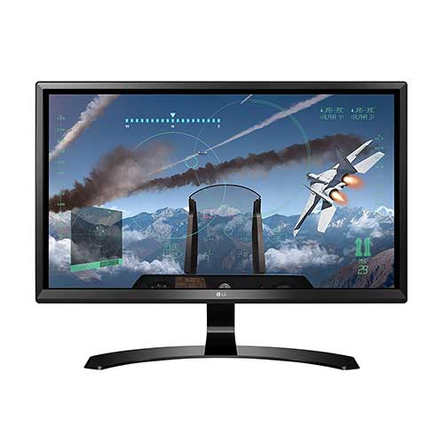 Best 4K Gaming Monitors Under 300 2. LG 24UD58-B 24-Inch 4K UHD IPS Monitor with FreeSync