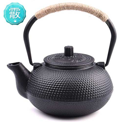 Best Teapots For Keeping Tea Hot 7. TOWA Workshop Japanese Tetsubin Tea Kettle Cast Iron Teapot