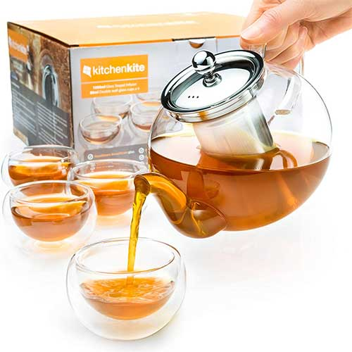 Best Teapots For Keeping Tea Hot 6. Kitchen Kite Stovetop Safe Tea Kettle