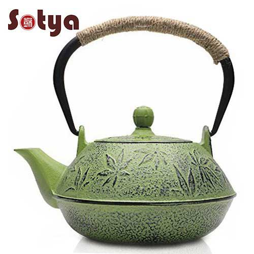 Best Teapots For Keeping Tea Hot 8. Sotya Cast Iron Teapot