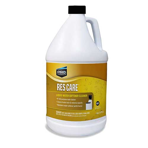 Best Water Softeners for Well Water With Iron 9. Pro Products ResCare RK41N All-Purpose Water Softener Cleaner Liquid Refill, 1 Gallon