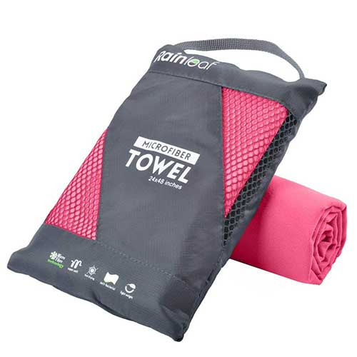 Best Microfiber Towels For Drying Car 8. RainLeaf Microfiber Towel by Perfect Sports & Travel &Beach Towel