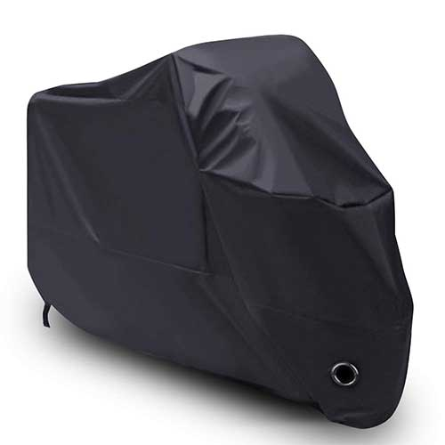 Best Motorcycle Covers For Outside Storage 4. LIHAO Waterproof Motorcycle Cover