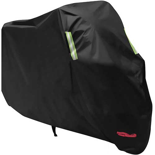 Best Motorcycle Covers For Outside Storage 1. Anglink Waterproof Motorcycle Cover, All Weather Outdoor Protection