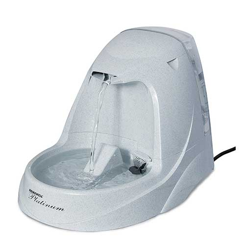 Best Cat Water Fountains 4. PetSafe Drinkwell Platinum Cat and Dog Water Fountain