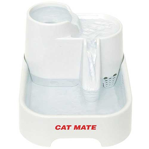 Best Cat Water Fountains 7. Cat Mate Pet Fountain