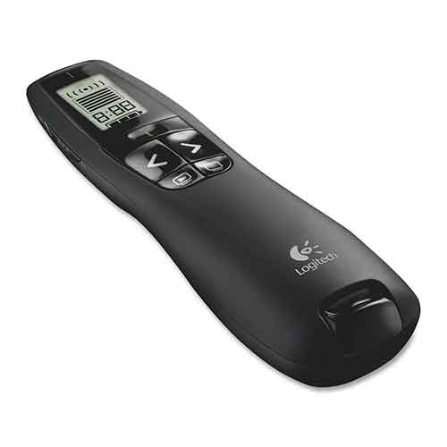 BEST GREEN LASER POINTERS FOR PRESENTATION 3. Logitech Professional Presenter R800, Presentation Wireless Presenter with Laser Pointer Green