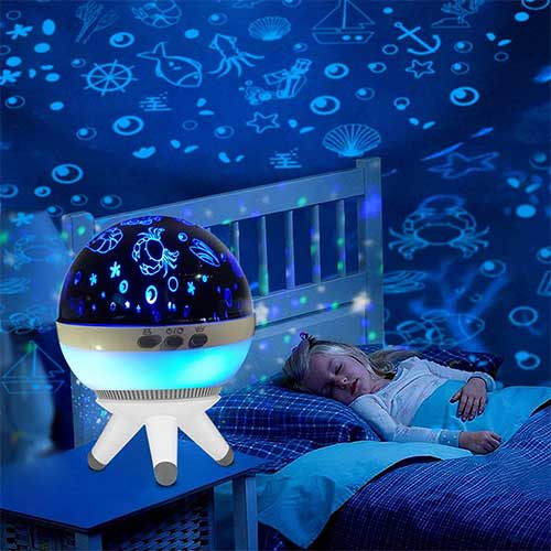 Best Night Lights for Baby 9. Night lights For Kids Night Lighting Lamp Projector Lamp Household Lamps Decorative Lighting Lamps Baby Nursery Light Mood Night Lamp