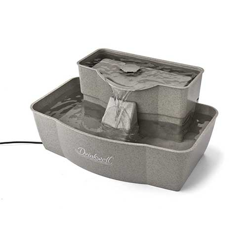 Best Cat Water Fountains 1. PetSafe Drinkwell Multi-Tier Dog and Cat Water Fountain