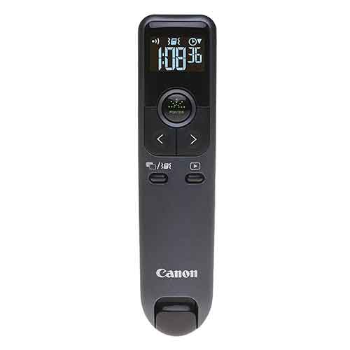 BEST GREEN LASER POINTERS FOR PRESENTATION 10. Canon PR10-G Wireless Presentation Remote, Green