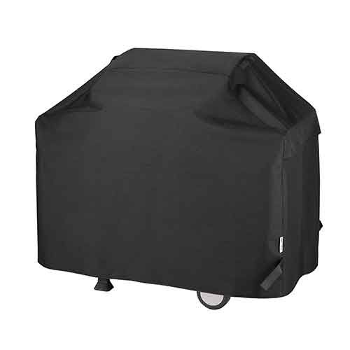 BEST WATERPROOF GRILL COVERS 3. UNICOOK Heavy Duty Waterproof Barbecue Gas Grill Cover, 55-inch BBQ Cover, Special Fade and UV Resistant Material, Durable and Convenient, Fits Grills of Weber Char-Broil Nexgrill Brinkmann and More