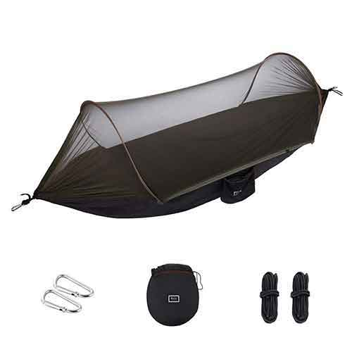 Best Camping Hammocks with Mosquito Net 6. isYoung Hammock with Mosquito Net