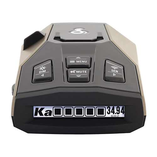 Best Radar Detectors under 200 2. Cobra RAD 450 Laser Radar Detector: Long Range, False Alert Filter, OLED Display & Voice Alert