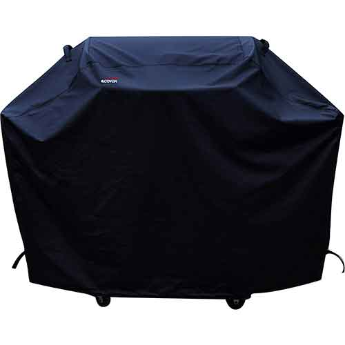 BEST WATERPROOF GRILL COVERS 6. a1COVER Grill Cover, Heavy Duty Waterproof Barbeque Grill Covers Fits Weber, Holland, Jenn Air, Brinkmann, Char Broil, Medium, 58.