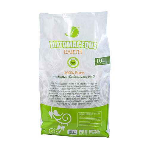 Best Food Grade Diatomaceous Earth for Human Consumption 10. Absorbent Industries AI-10066 Diatomaceous Earth Food Grade, 10 lb, White