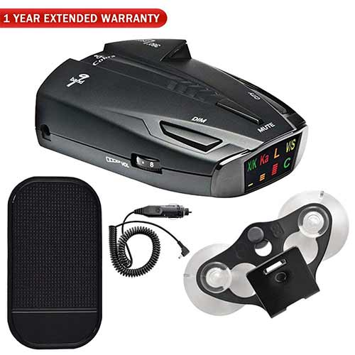 Best Radar Detectors under 200 4. Cobra ESD7570 9-Band Performance Radar/Laser Detector