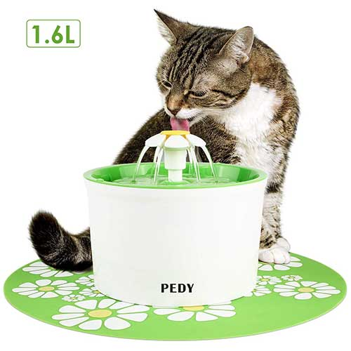 Best Cat Water Fountains 3. Pedy Cat Water Fountain