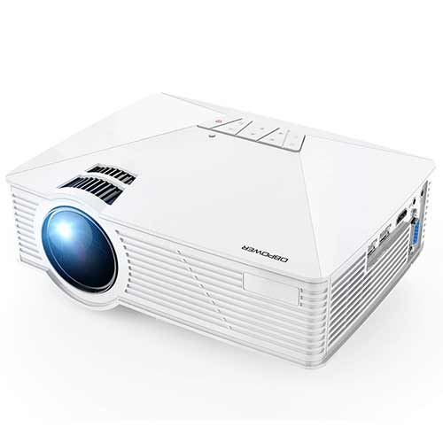 Best Mini Projectors under 100 5. Mini Projector, DBPOWER GP15 Projector