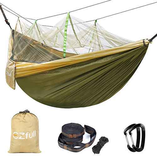 Best Camping Hammocks with Mosquito Net 5. Sunyear Single & Double Camping Hammock