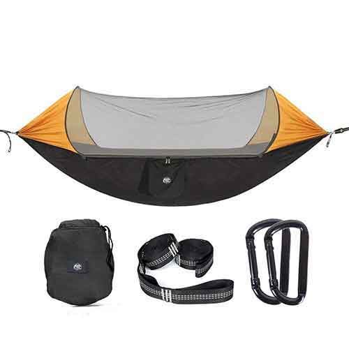 Top 10 Best Camping Hammocks with Mosquito Net in 2021 Reviews