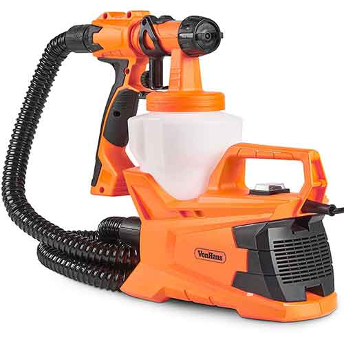 Best Paint Sprayers for Furniture 9. VonHaus 6.5Amp Electric HVLP Spray Gun